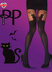 Pretty Polly Halloween Cat Tights