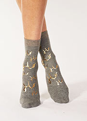 Pretty Polly Ho Ho Ho Socks