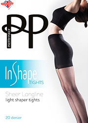 Pretty Polly In Shape Sheer Longline Bodyshaper Tights