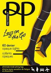 Pretty Polly Legs On The Go 60 Denier Light Support Tights