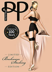 Pretty Polly Limited Edition Centenary Stockings