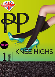 Pretty Polly Lurex Knee High  Thumbnail