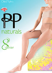 Pretty Polly Naturals Just Oiled Tights Zoom 1