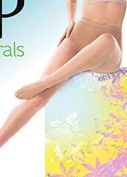 Pretty Polly Naturals Sandal Toe Tights Zoom 2