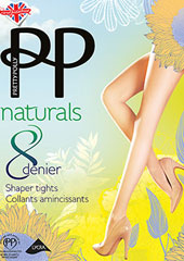 Pretty Polly Naturals Secret Slimmer Tights Thumbnail