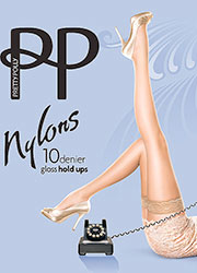 feeba17c4c0 Pretty Polly Nylons Lace Top Hold Ups Thumbnail