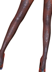 Pretty Polly Pretty Baroque Tights Zoom 2