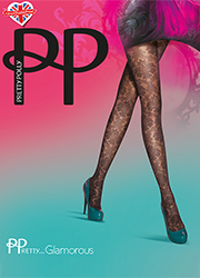 Pretty Polly Pretty Glamorous Baroque Lace Tights Thumbnail