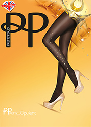 Pretty Polly Pretty Opulent Embellished Tights Thumbnail