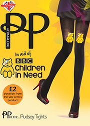 Pretty Polly Pretty Pudsey Tights Zoom 1