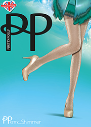 Pretty Polly Pretty Shimmer Sheer Lurex Tights Zoom 2