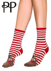 Pretty Polly Rudolph Cotton Ankle Socks Thumbnail