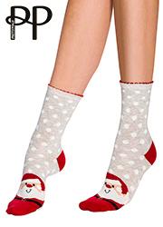 Pretty Polly Santa Cotton Ankle Socks Thumbnail