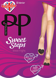 Pretty Polly Sweet Step 10 Denier Knee Highs