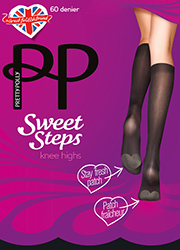 Pretty Polly Sweet Steps Odour Control Knee High