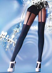Pretty Polly Suspender Tights
