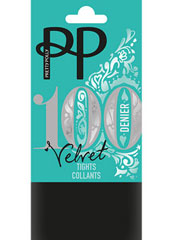 Pretty Polly Velvet 100 Denier Opaque Tights Thumbnail