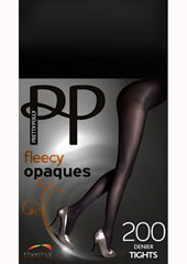 Pretty Polly 200 Denier Fleecy Opaque Tights Thumbnail