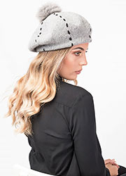 Pia Rossini Carly Beret Zoom 2