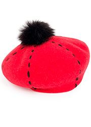Pia Rossini Carly Beret Zoom 4