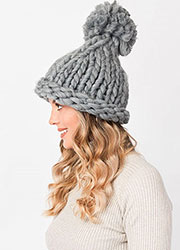 Pia Rossini Cosette Knitted Hat Zoom 2