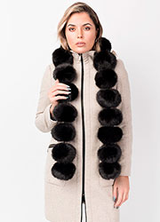 Pia Rossini Perry Scarf Faux Fur