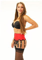 Sassy 10 Strap Suspender Belt Zoom 4