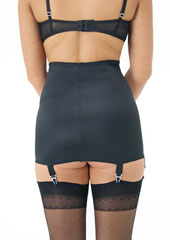 Sassy 8 Strap Open Bottom Girdle Zoom 2