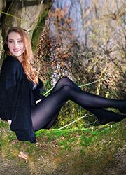 Sarah Borghi Green 40 Tights