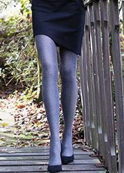 Sarah Borghi Green Cotton 100 Tights Zoom 2