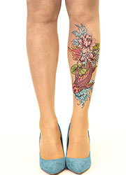 Stop And Stare Fish N Flowers Tights Zoom 1