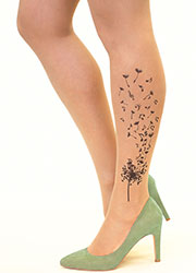 Stop And Stare Musical Dandelion Tights