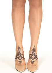 Stop And Stare Twin Tribal Tights Zoom 1