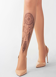 Stop And Stare Black Dream Catcher Tights Zoom 2