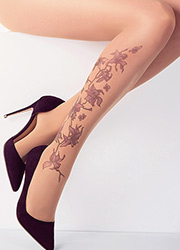 Stop And Stare Orchid Vine Tights Zoom 2