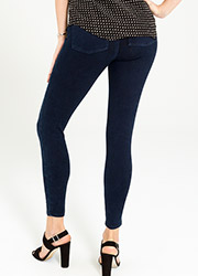 Spanx Cropped Indigo Leggings Zoom 3