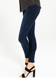 Spanx Cropped Indigo Leggings Zoom 2
