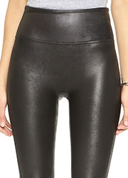 Spanx Faux Leather Leggings  Zoom 3