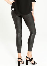 Spanx Faux Leather Leggings  Zoom 2