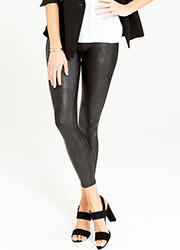 Spanx Faux Leather Leggings  Zoom 1