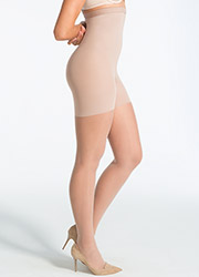Spanx High-Waisted Invisible Luxe Leg Sheer Tights Zoom 3