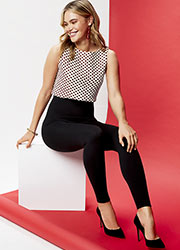 Spanx Look At Me Now Seamless Legging Zoom 2