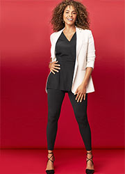 Spanx Look At Me Now Seamless Legging Zoom 1
