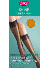 Silky Super Shine Knee Highs