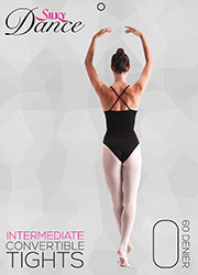 Silky Ballet Adult Convertible Ballet Tights Zoom 1