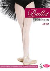 Silky Ballet Adult Seamed Ballet Tights