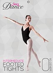 Silky Ballet Childrens Full Foot Ballet Tights