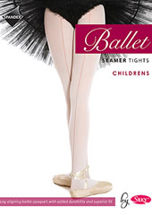 Silky Ballet Childrens Seamed Ballet Tights