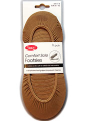 Silky Comfort Sole Footsies