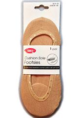 Silky Cushion Sole Footsies